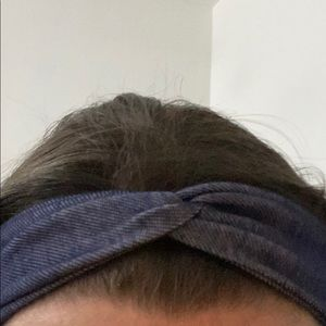 Jean designed knot head band